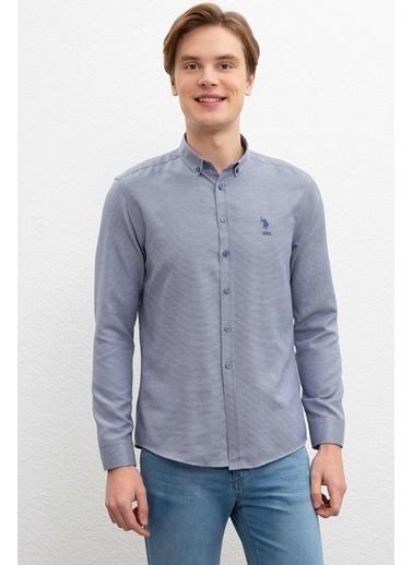 U.S. Polo Assn. Gömlek İndigo
